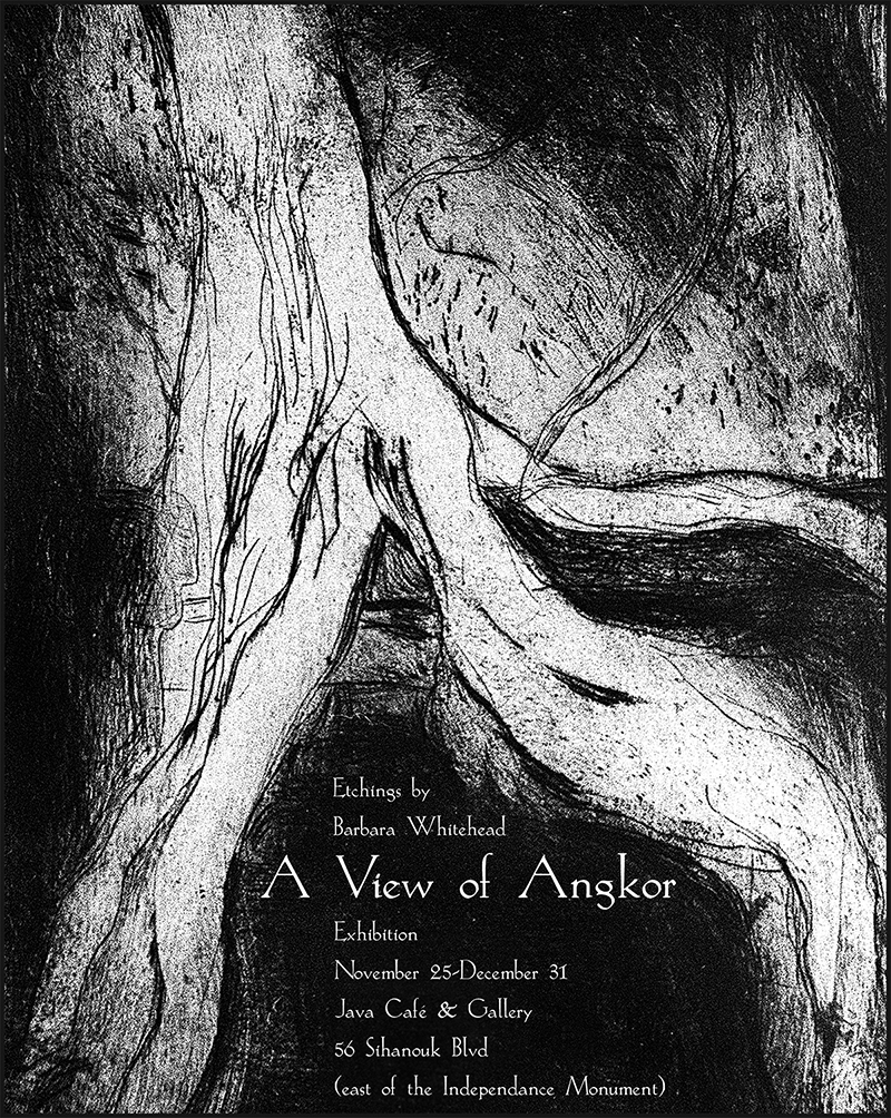 Barbara Whitehead | A View of Angkor | 2000 | Java Creative Cafe