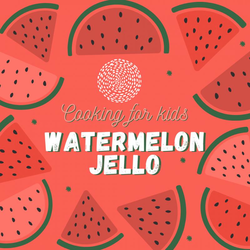 Watermelon Jello Recipe